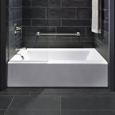 kohler bellwether alcove 60 x 32 soaking bathtub reviews wayfair