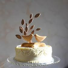 Wooden Wedding Cake Toppers Nz
