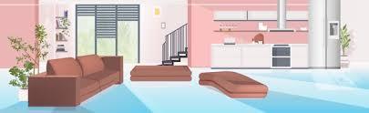 zeitgenössisches haus mit wohnzimmer und offener küche leer
