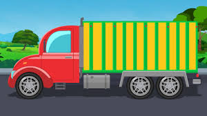 Goods Carrier | Auto Transport Truck | Learn Vehicle For Kids ...