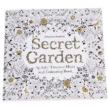Set Of 5 Secret Garden An Inky Treasure Hunt And Coloring Book