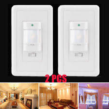 140 pir ir infrared motion sensor detector light switch hallway