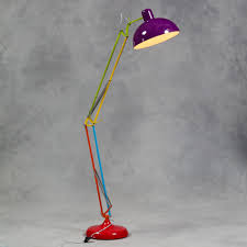 Vidja Floor Lamp Ikea by Large Retro Multicoloured Floor Lamp Vintage Anglepoise Style