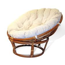 Papasan Chair Cushion Cover home design winsome wicker round chairs rattan swivel rocking