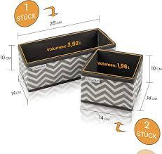 ordnungsbox in grau weiß schubladen wickelkommode