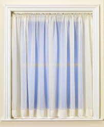 Blue Crushed Voile Curtains by Net Curtains Direct Voile Memsaheb Net