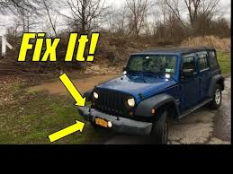 doing some maintenance on the jeep wrangler how to change a jeep