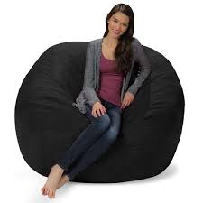 Amazon.com: Comfy Sacks 5 Ft Memory Foam Bean Bag Chair, Jet Black ... Forget Beanbag Chairs Amazon Is Giving Its Workers Treehouses Giant Bean Bag Chair The Bigone Lovesac Muji To Relax Mujirushi Ryohin Jaxx Saxx 4 Special Edition Denim Bags Kuow Holds An Annual Meeting Outside A Shit Show Los Angeles Chargers Nfl Midcentury Milo Mid Century Modern Groovy Seattle Rh Newborn Poser Backdrop Express Rocking Mandaue Foam