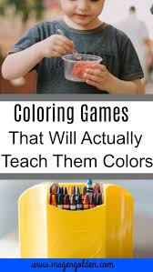 Fun Coloring Games To Make Learning For Your Toddler