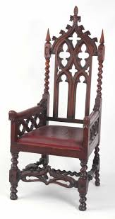 A LATE 19TH CENTURY OAK GOTHIC REVIVAL ARMCHAIR With Arched Pierced ... Gothic Revival Oak Glastonbury Chair Sale Number 2663b Lot Antique Carved Walnut Throne Arm Bucks County Estate Truly Stunning Medieval Italian Stylethrone Scissor X Large Victorian A Pair Of Adjustable Recling Oak Library Chairs Wick Tracery Cathedral My Parlor Room Purple Reproduction Shop Pair Jacobean Style Armchairs In Streatham Charcoal Gray Painted Rocking By Just The Woods Wicker Seat Side At
