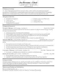 Warehouse Manager Job Description Resume Sample Examples Of Resumes With For