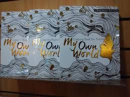 My Own World 1 2 Coloring Book For Adults Terapi Warna Anti Stres Tersedia Di Gramediabooks Gramedmatramanpictwitter YYPYzhx2Cb