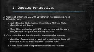 Iron Curtain Speech 1946 Definition by The Origins Of The Cold War U201c