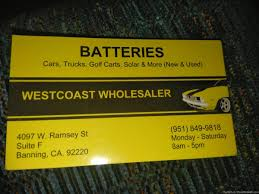 100 Used Truck Batteries PennySaver New Used Car Truck Marine RV Battery With