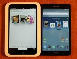 Samsung Galaxy Tab A Nook vs Nook HD