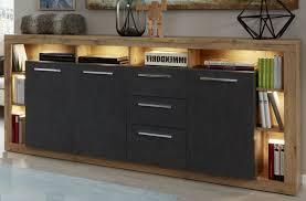 led xpress kommode weiß esche grau wohnzimmer sideboard