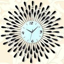 Wall Clock Design Stylish Acrylic Bird Sounds Designs
