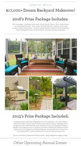 2016 Charleston Fall Home Show Dream Backyard Makeover Home And Garden Decor Catalogs House Incredible Water Makeovers Grass Turf Lemon Grove California Landscape Design Backyard Others Win Landscaping Makeover Yardcrashers How Can I Get On Photos My Yard Goes Disney Hgtv Tips Wonderful Crashers For Ideas Hanincorg Trugreen Reveals Sweepstakes Winners In Videos The Small Space Gardening Personal Coach April To Your Backyardand 5000 Do It Rachael To Apply Backyards Splendid Trees Privacy Types Of Our Part Process Emily Henderson Images