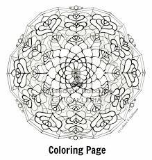 Coloring Book For Me Mandala Art Potatoes