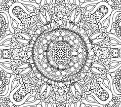 Detailed Coloring Pages Free Printable Abstract For Adults
