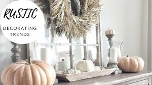 Rustic 2017 Fall Thanksgiving Decorating Ideas