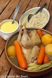 recette poule au pot riz poule au pot et riz sauce crémeuse la cuisine des jours