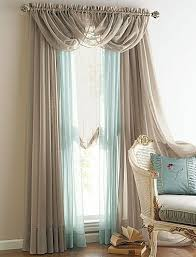 Searsca Sheer Curtains by New 4 Panels Elegance Sheer Voile Curtains With 3 Scrafs Bedroom