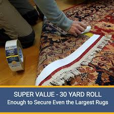 Rug Pads For Hardwood Floors Amazon by Amazon Com New Original Carpet Tape 90ft Roll For Rugs Mats