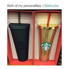 Home Accessory Starbucks Coffee Cute Cup Gold Black Water Bottle And Matte Mug