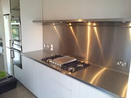 Can Be Expensive If You Want A Custom Size Stainless Steel Splashback