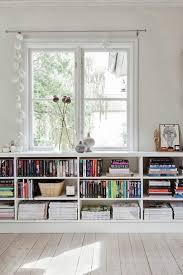 Decorating Bookshelves In Family Room by Best 25 Low Shelves Ideas On Pinterest Bookshelf Living Room