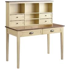 Secretary Desk With Hutch Plans by Carmichael Desk U0026 Hutch Antique Ivory Pier 1 Imports Office