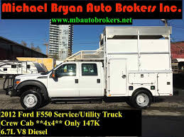 100 Mechanic Truck 2012 Ford F550 SERVICEUTILITY TRUCK Coquitlam