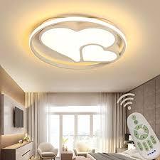 led modern deckenleuchte dimmbar wohnzimmer schlafzimmer