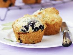 blaubeer joghurt muffins