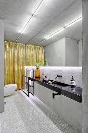 modernes bad in grau mit indirekter bild kaufen