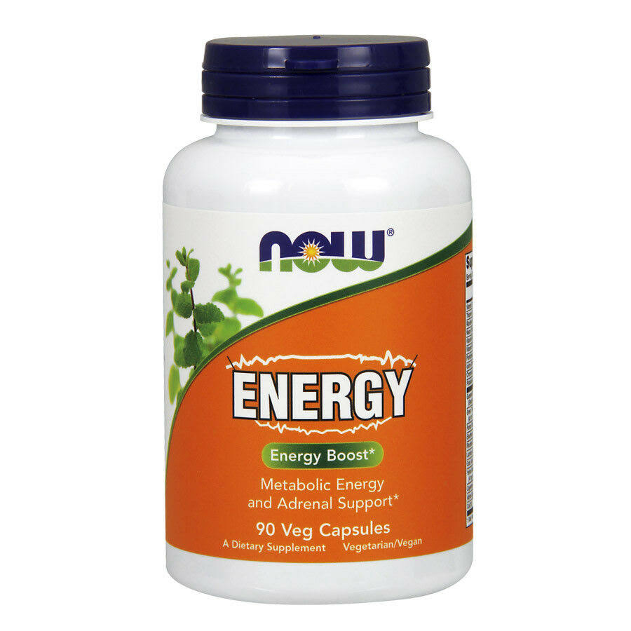 Now Foods Energy, Capsules - 90 count