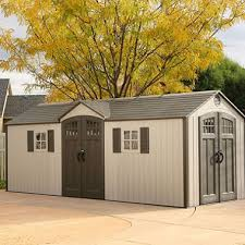 Wood Storage Sheds 10 X 20 by Lifetime 20 U0027 X 8 U0027 Outdoor Storage Shed Building Sam U0027s Club
