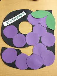 G Is For Grape Language Arts Activity