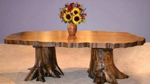 Tree Dining Table Outstanding Stump Oval Room And Chairs Base Tables With Glass