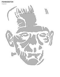 Stormtrooper Stencil Halloween by Best 25 Frankenstein Pumpkin Stencil Ideas On Pinterest Pumpkin