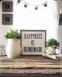 Wood Sign Cute Vignette Farmhouse Decor Wall Sayings DecorKitchen