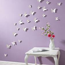 Full Size Of Furniture3d Wall Butterflies Butterfly Decals Paper In Slate Grey Modern Decor
