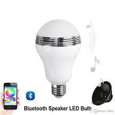 best speaker bluetooth e27 led rgb light bulb l color