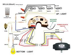 electrical ceiling fan wiring with remote 2 wall light and