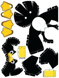 Cute Templates Google Search Easy Papercraft Paper Craft Toys Etc Printable