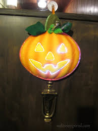 Avon Fiber Optic Halloween Decorations by Cozy Cottage Weekends Halloween Night At The Cottage We Live