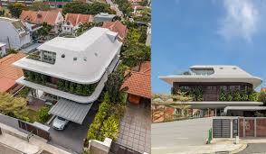 100 Singapore House Luxury Homes A Siglap Home With A Futuristic Roof The