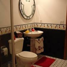 Mickey Mouse Bathroom Ideas by Modern Fun Boy Bathroom Ideas With Wall Mounted Sinks Fun Boy
