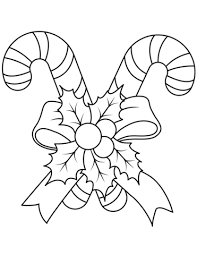 Click To See Printable Version Of Christmas Candy Canes Coloring Page